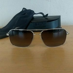 Salt Aviator Sunglasses - Titanium-Polarized Mens
